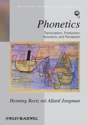 Phonetics book cover
